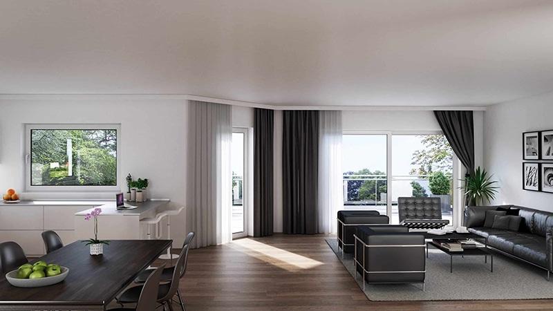 Neubauprojekte Langenberg Wohnung Beispiel