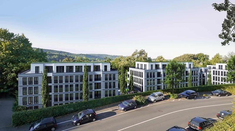 Neubauprojekte Beispiel Häuser Nützenberger Straße