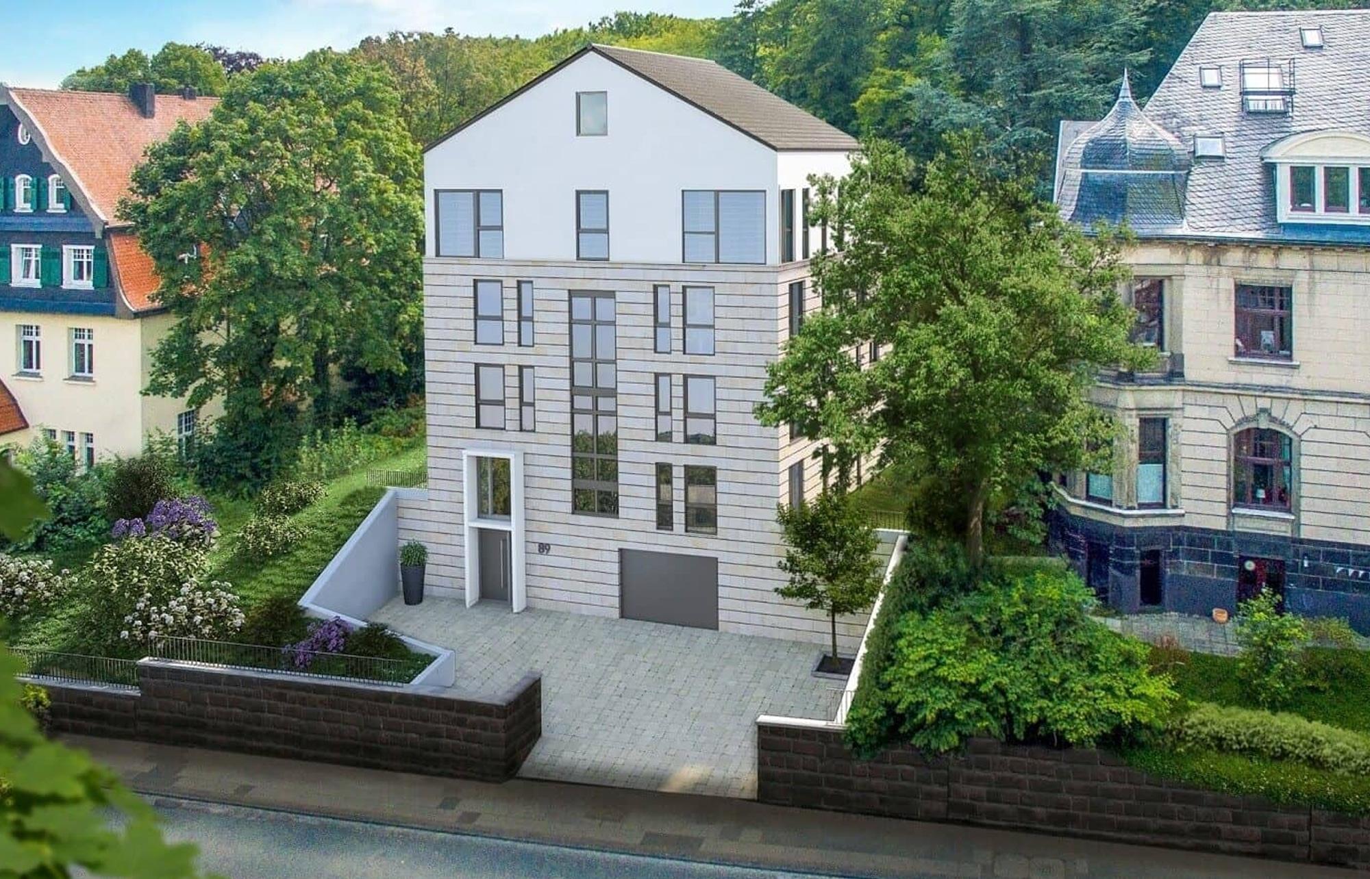Beispiel Haus Neubauprojekt