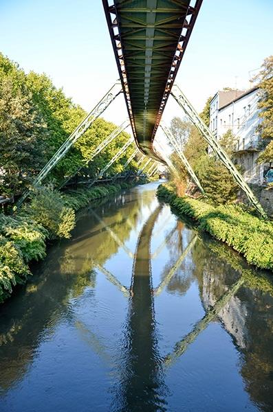 Im Schatten der Wuppertaler Schwebebahn hilft Ihnen der Immobilienmakler Daniel von Baum