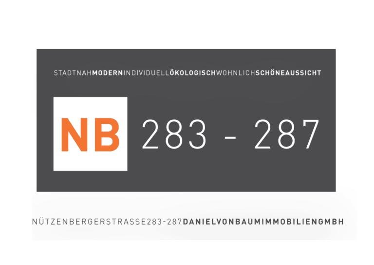 Logo Neubauprojekte Nützenbergerstraße Daniel von Baum Immobilien GmbH