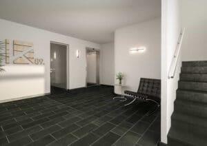 Neubau_Briller-Viertel_Eingangsbereich