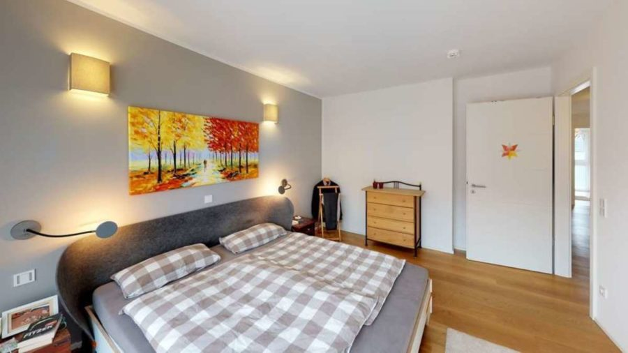 Penthouse in priviligierter Wohn- und Sonnenlage! - Schlafzimmer