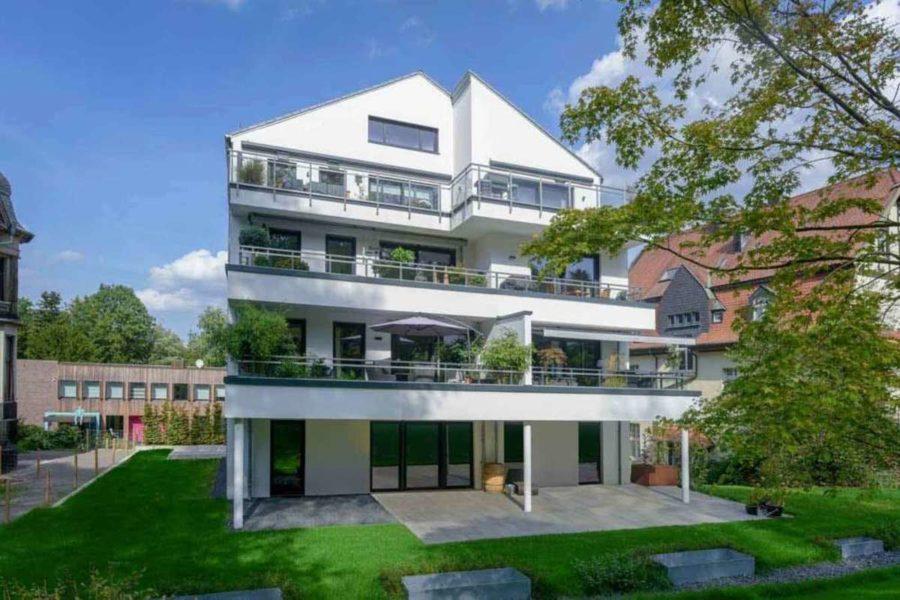 Penthouse in priviligierter Wohn- und Sonnenlage! - Rückseite Briller Viertel