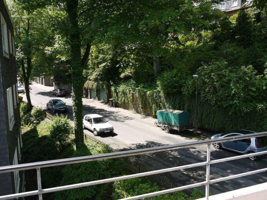 Briller Viertel - mit Blick über Wuppertal - kleiner Balkon, Briller Höhe