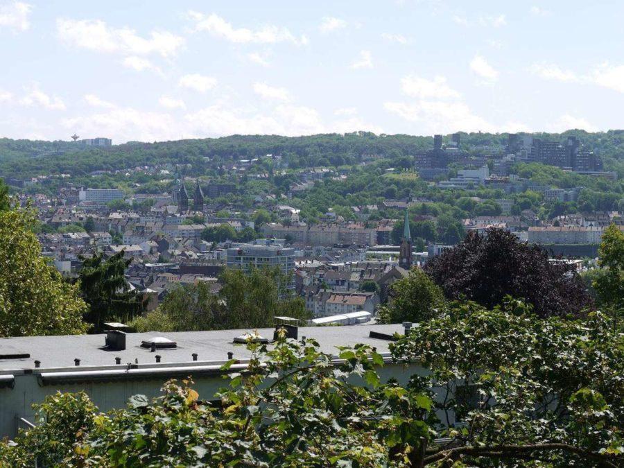 Briller Viertel - mit Blick über Wuppertal - Blick über die Stadt